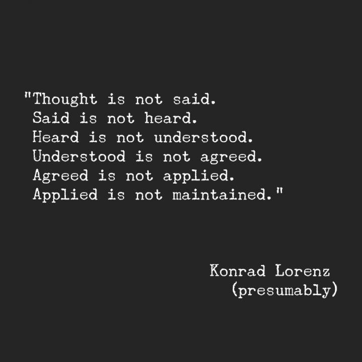 Quote Konrad Lorenz