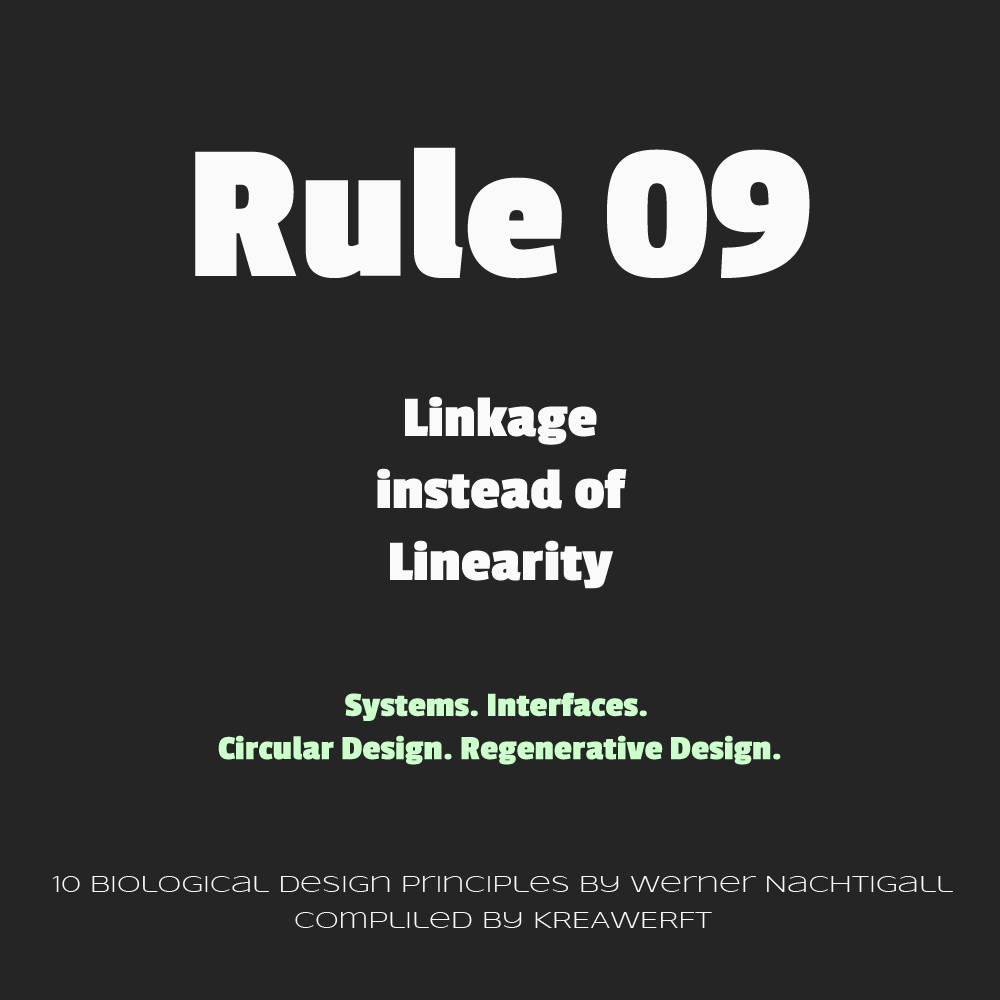 Biological Design Rules by Werner Nachtigall - #09